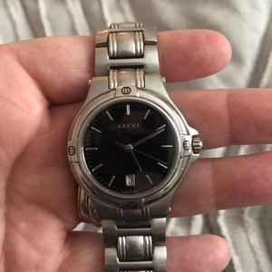 Vintage Gucci Stainless Steel watch
